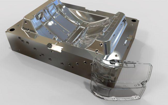 ITM Integrity Tool & Mold Plastic InjectedHeadlamp Lens