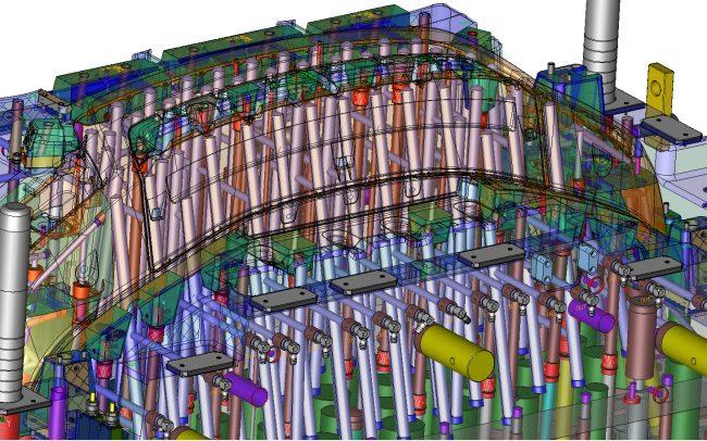 AIS Active Industrial Solutions XMD 3D Mold Design Automotive Fascia under NX (UG) hours